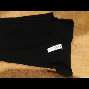 SALE LAUNDRY BY SHELLI SEGAL SZ8 BLACK Pants NWT